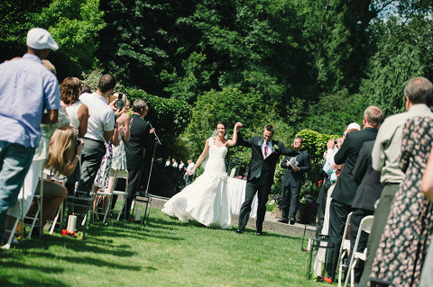 Wedding Ceremony At Vancouver Park
