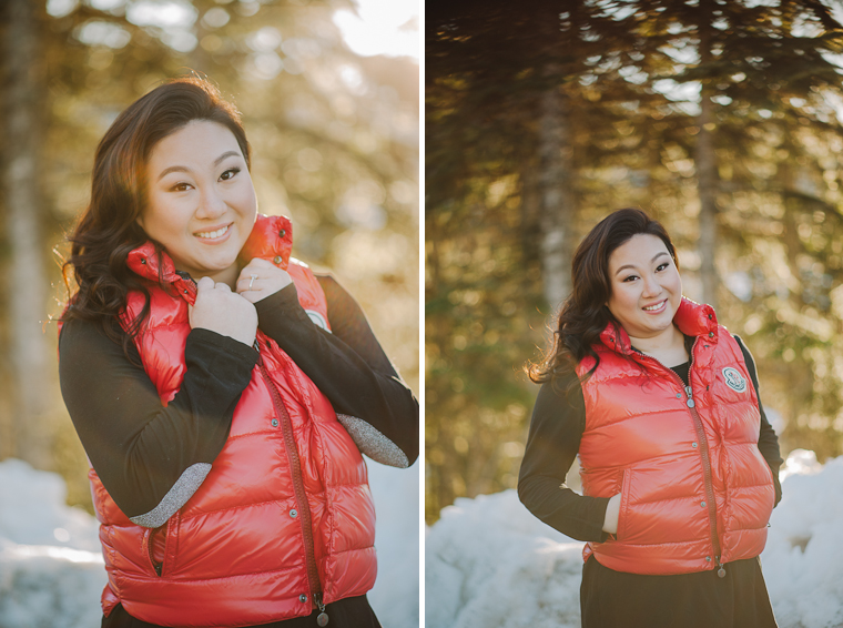 whistler winter engagement natalie justin vancouver