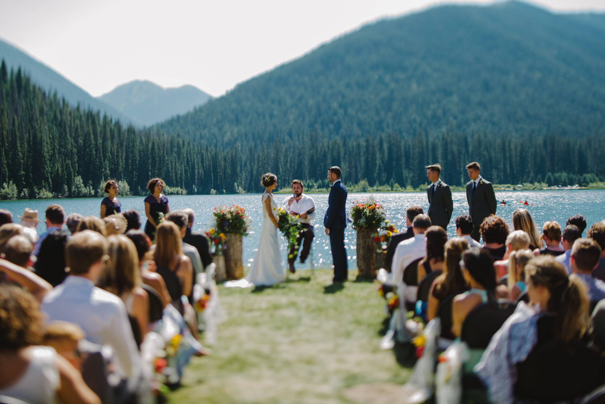 Lightning Lake Wedding Ceremony