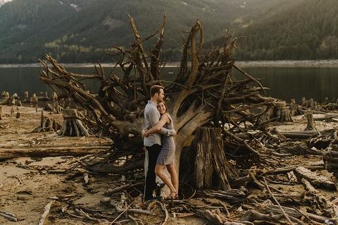 jones lake engagement
