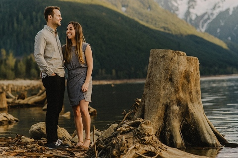 engagement session at jones lake in chilliwack