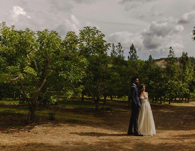 unique kelowna orchard wedding venue