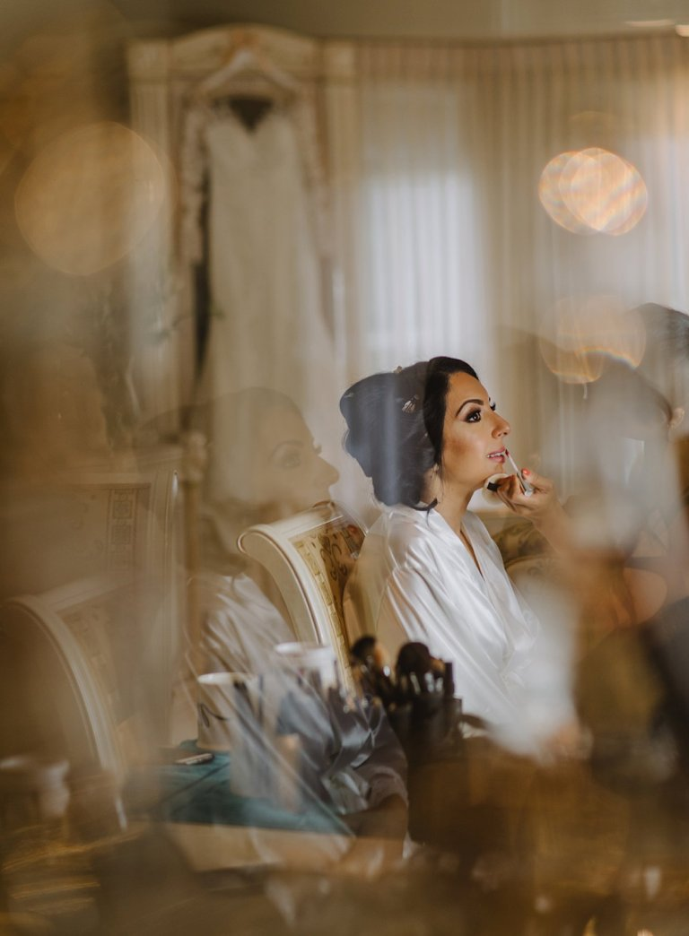 unique bridal prep photos vancouver