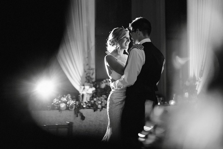 first dance at swan-e-set golf course