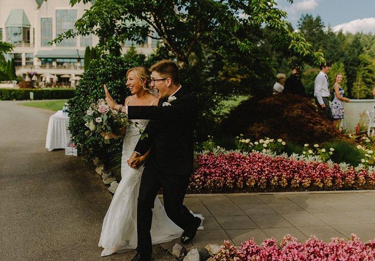 funny vancouver wedding photos