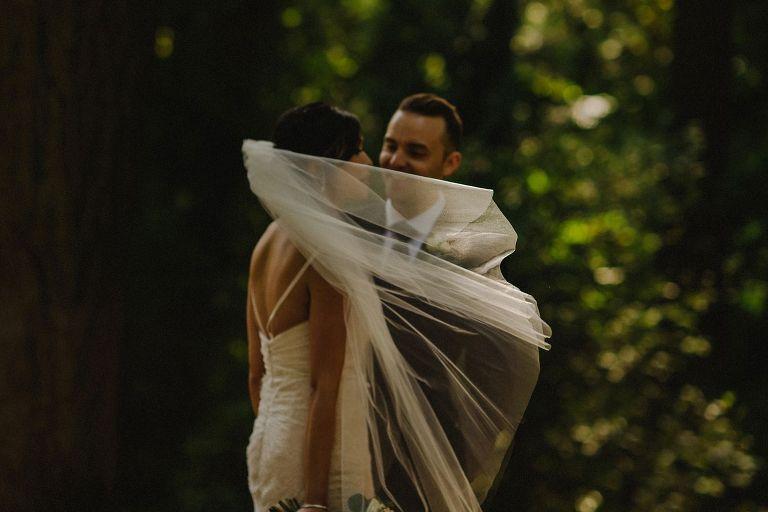 unique vancouver wedding portrait