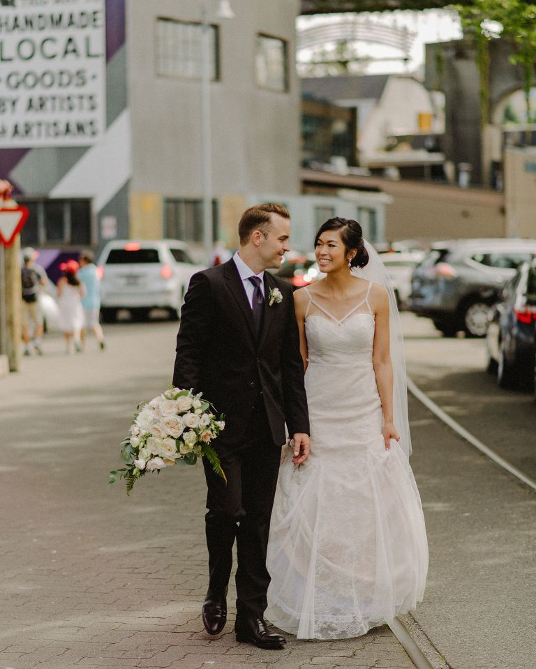 best granville island wedding portraits