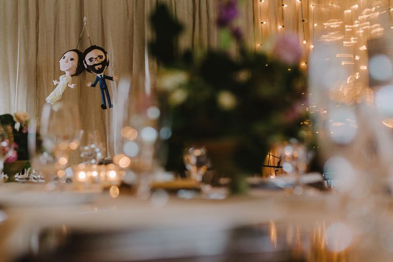 bride and groom pinata