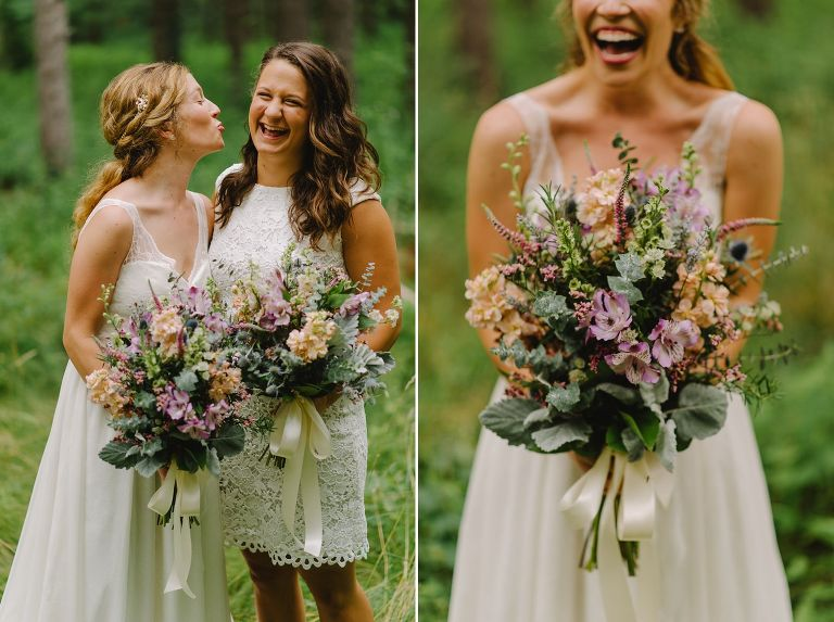 Occonomowoc wildflower wedding
