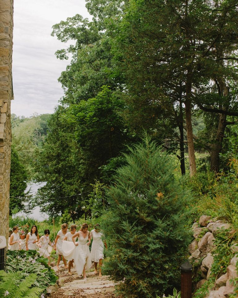 wedding in wisconsin lake country