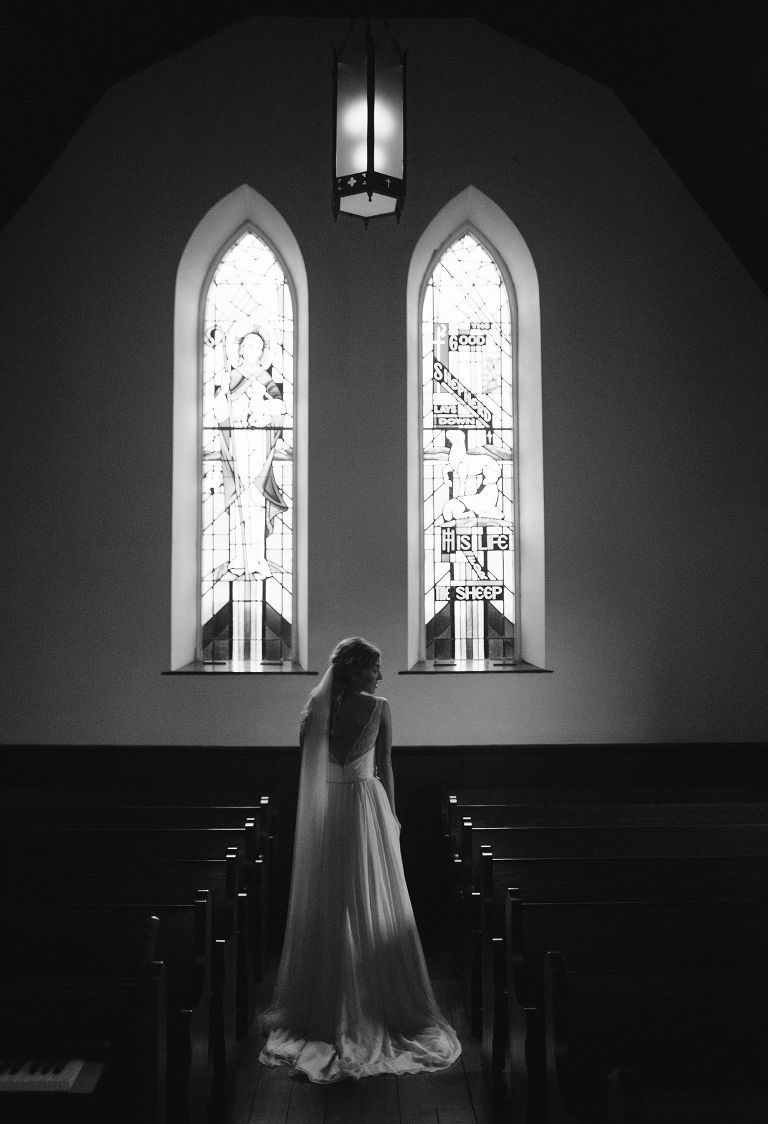 st marys church wedding in dousman