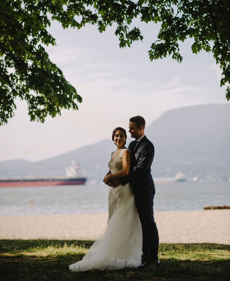 best jericho beach wedding photos