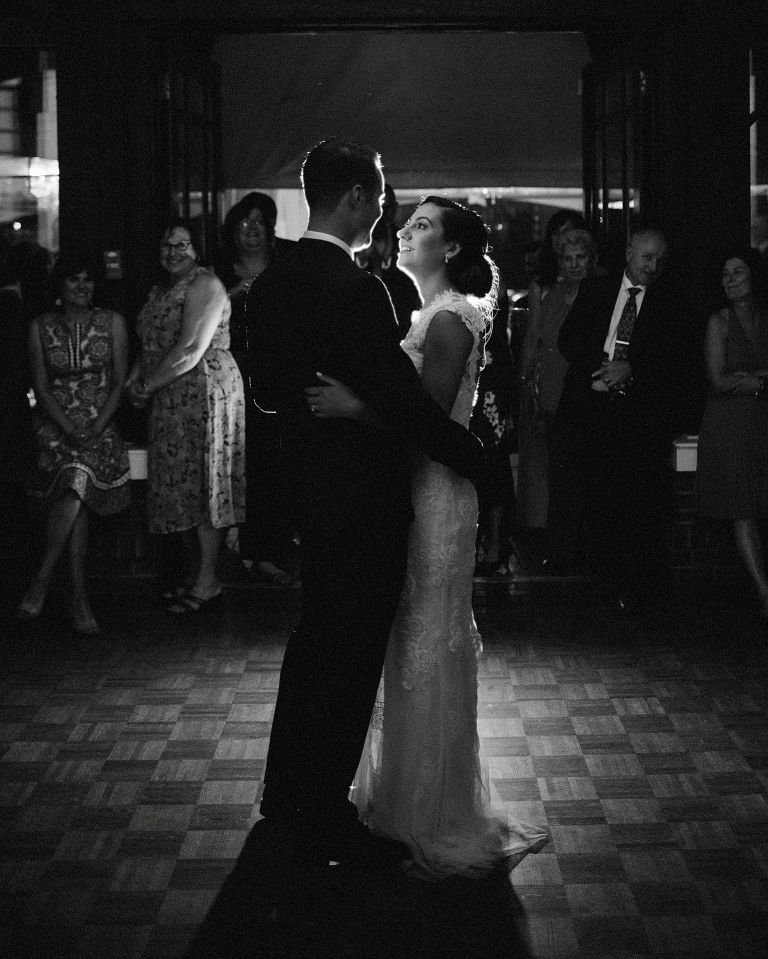 first dance at brock house in vancouver