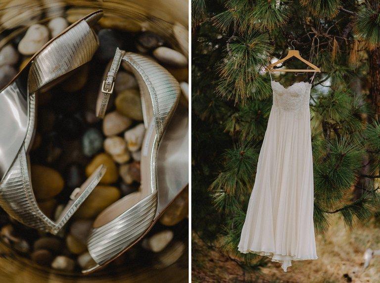 unique flowy wedding dress
