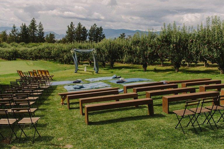 unique kelowna wedding ceremony venue