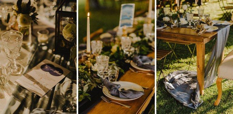 constellation theme wedding details