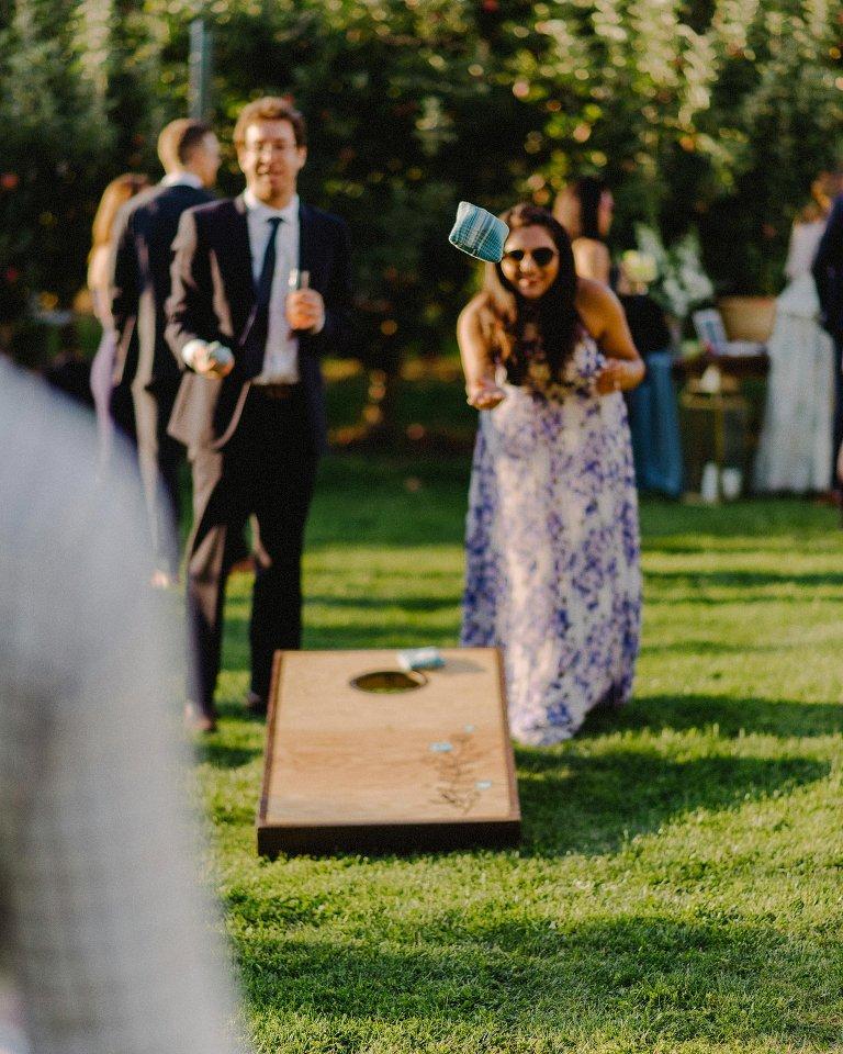 orchard wedding details