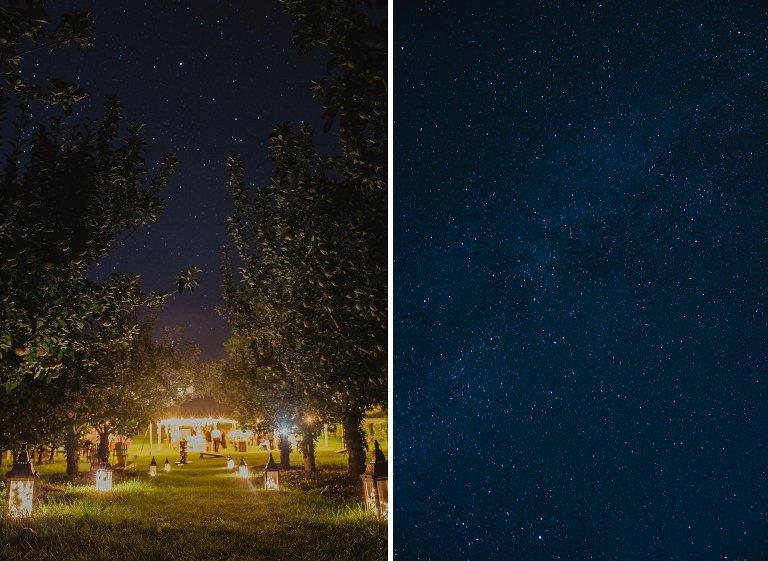 constellation themed wedding in kelowna