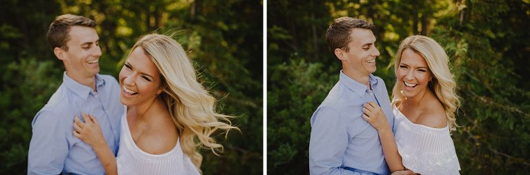 candid vancouver forest engagement