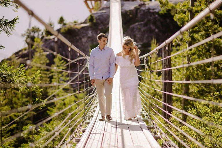 squamish suspension bridge engagement
