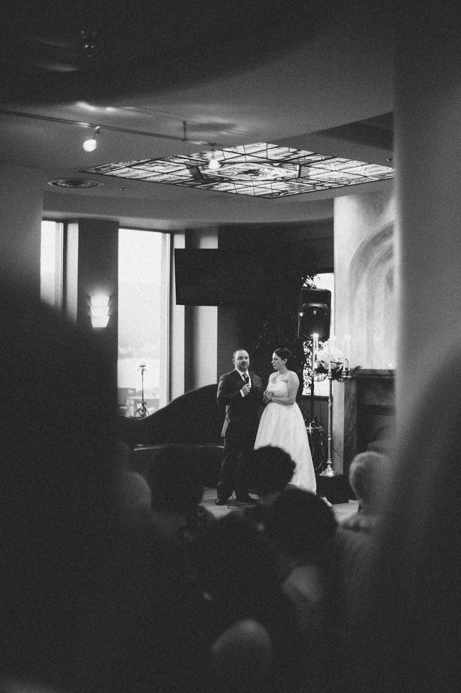 vancouver wedding at steamworks restaurant