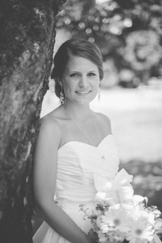bride portrait at fort langley
