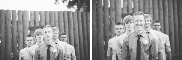 groomsmen portrait at fort langley