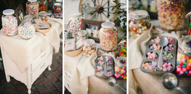 DIY Wedding Candy Bar