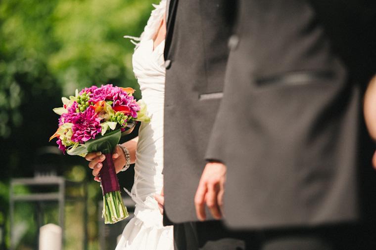 unique vancouver park wedding