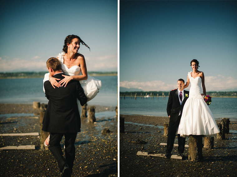 fun vancouver wedding pictures