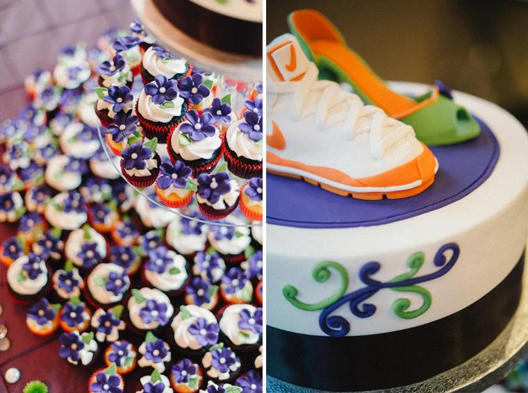 unique basketball theme wedding cake