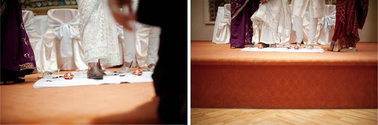 indian wedding ceremony at burnaby ismaili center