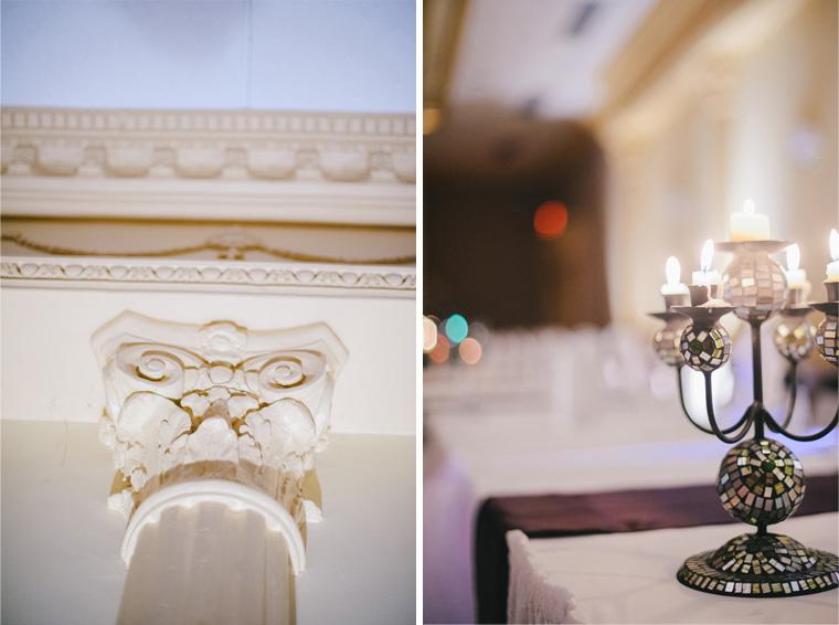 Roma Hall Wedding Decor