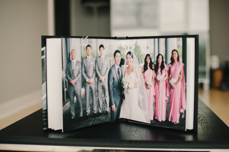 best vancouver wedding album
