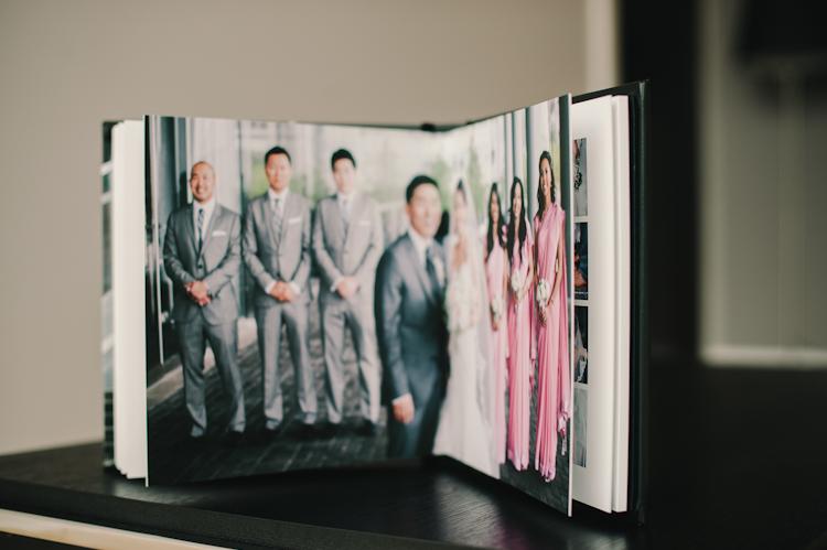 unique wedding album