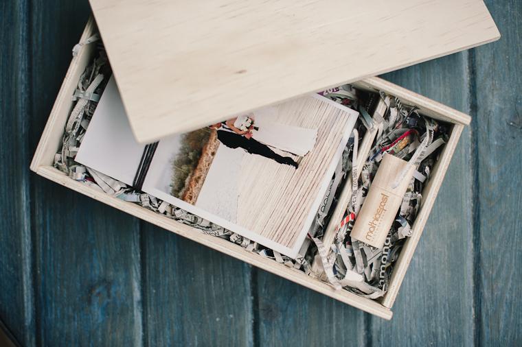 custom wooden proof box