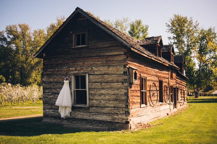 Rustic Kelowna Wedding Venue