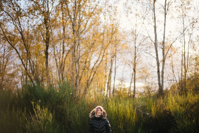 vancouver forest portrait session