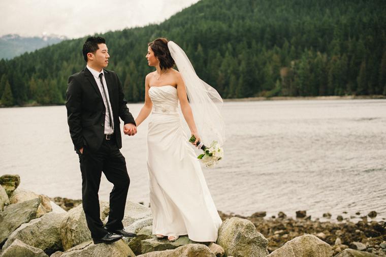 Barnet Marine Park wedding