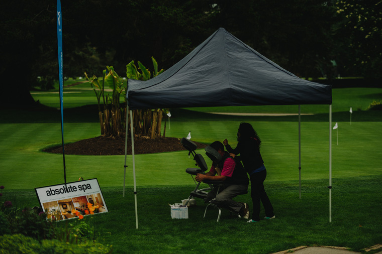 vancouver charity golf event