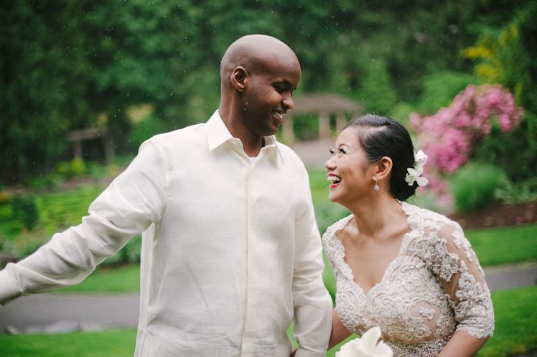 garden wedding pictures in vancouver