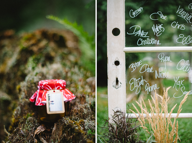 Rustic DIY Wedding Favor