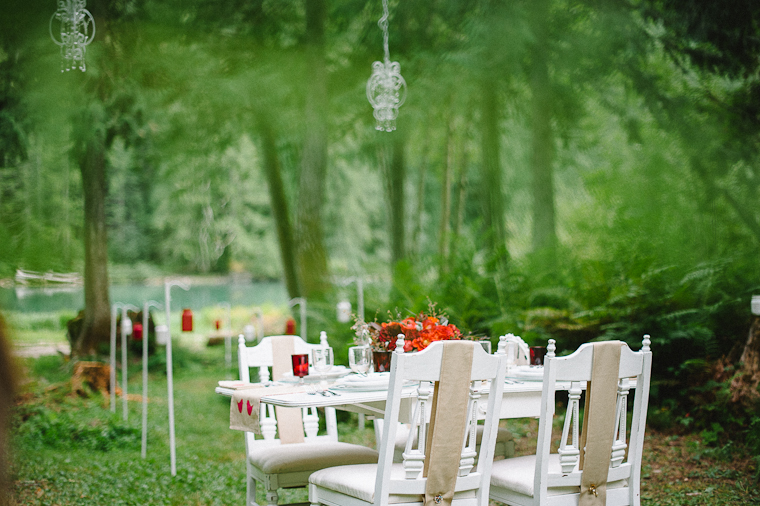 Rustic Forest Wedding Decor