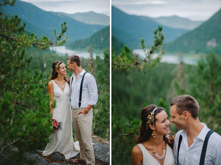 Unique Forest Wedding Pictures