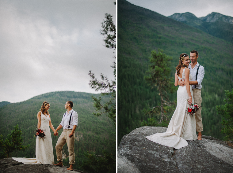 Unique BC Mountain Wedding
