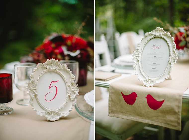 Rustic Wedding Table DIY Details