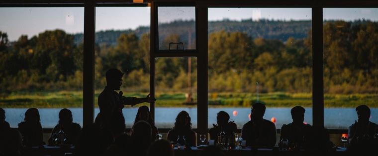 Burnaby Lake Rowing Pavilion Wedding Venue