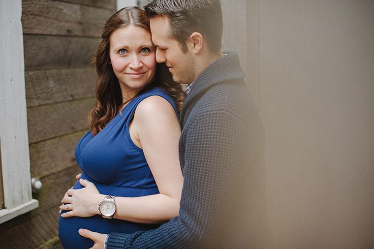 Steveston Maternity Portrait