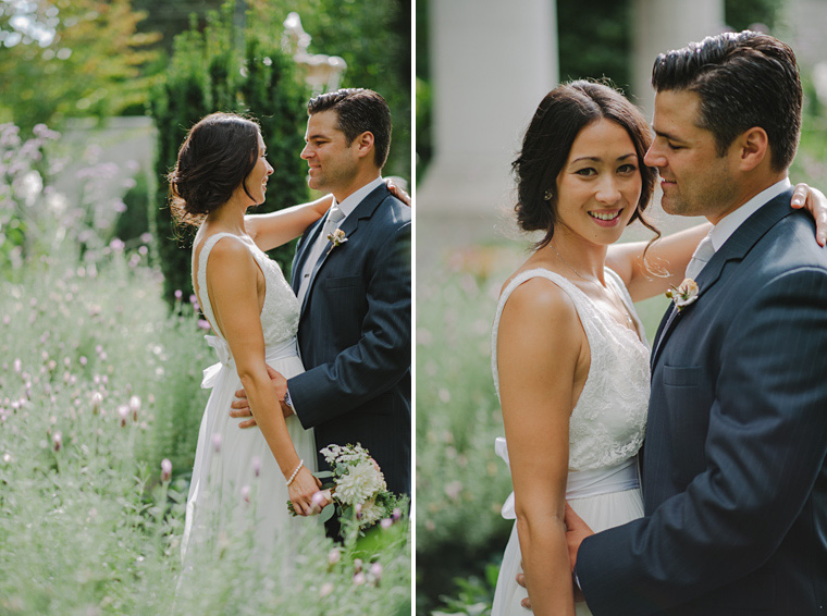 wedding portraits at private mansion in vancouver