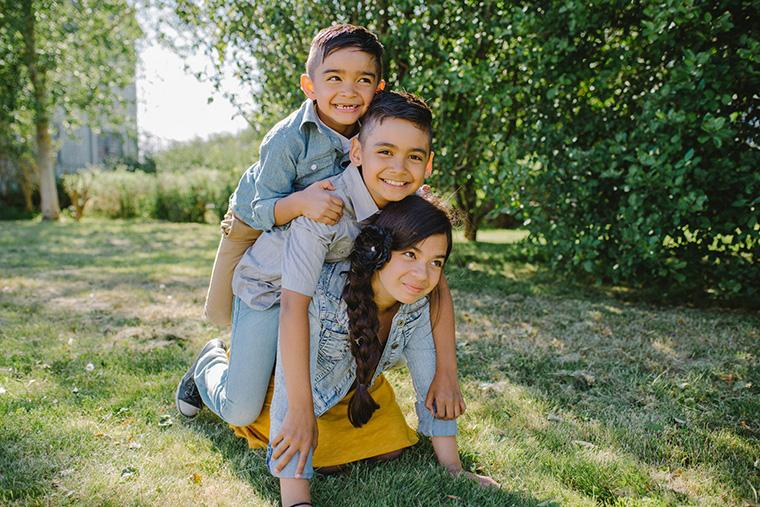 Vancouver family portrait photography